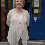 WWW.ENTSIMAGES.COM -    June  Watson   arriving for her evening performance in  The Cripple of  Inishmaan  at Noel Coward Theatre Leicester Square  London August 17th 2013       Photo Mobis Photos/OIC 0203 174 1069