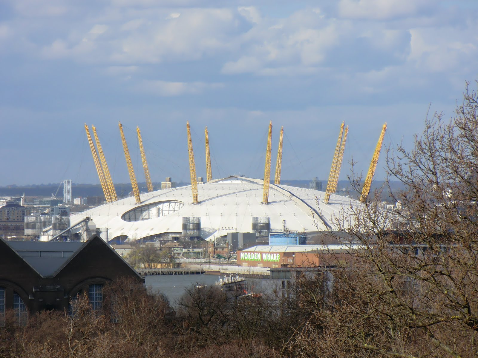 CIMG0227 The O2 from Greenwich Park