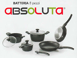 Batteria 8 pezzi Absoluta by Tognana