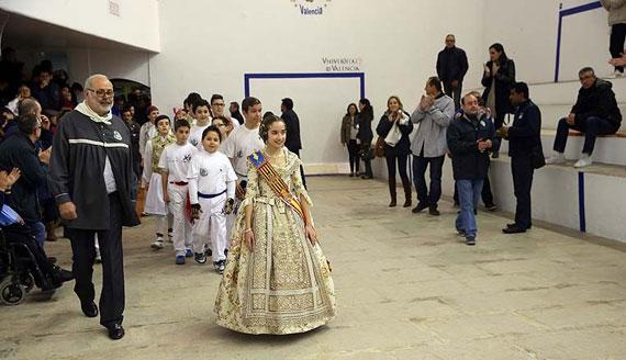 Entrega de equipajes del campeonato de Pelota Valenciana