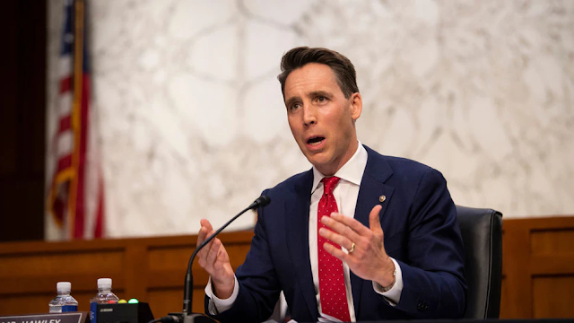 Sen. Josh Hawley Blasts Double-Standard For 2020 Election Objections Compared To 2000, 2004, 2016