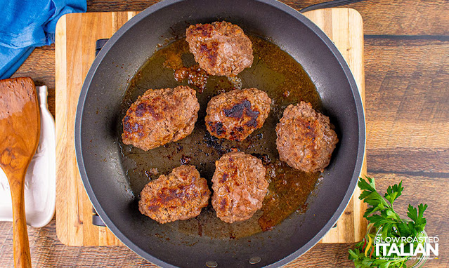fried salisbury steaks