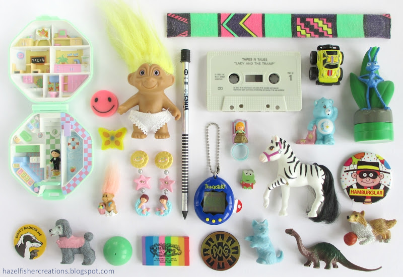 90s nostalgia children collection photo hazelfishercreations