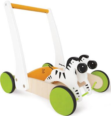 Xe tập đi Ngựa vằn Hape Galloping Zebra Cart