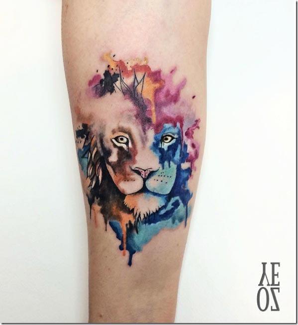 Este resumo leão