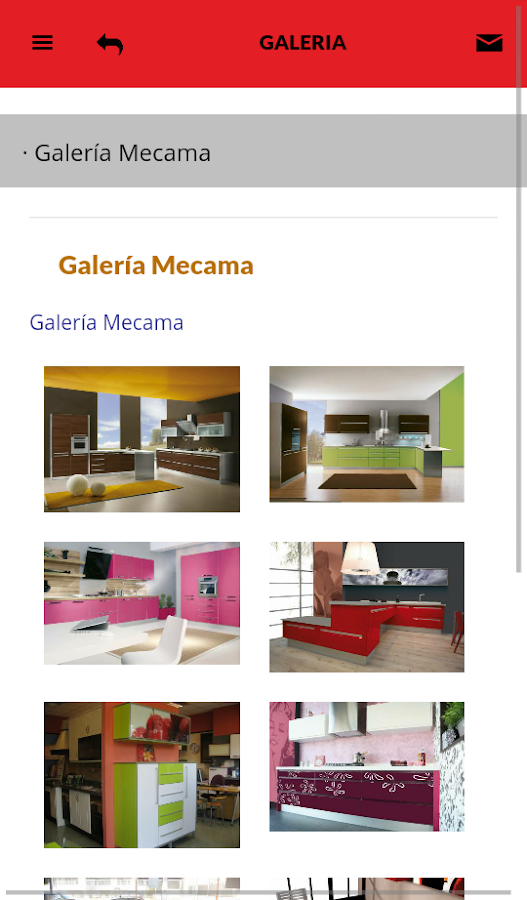 Mecama Cocinas - Android Apps on Google Play