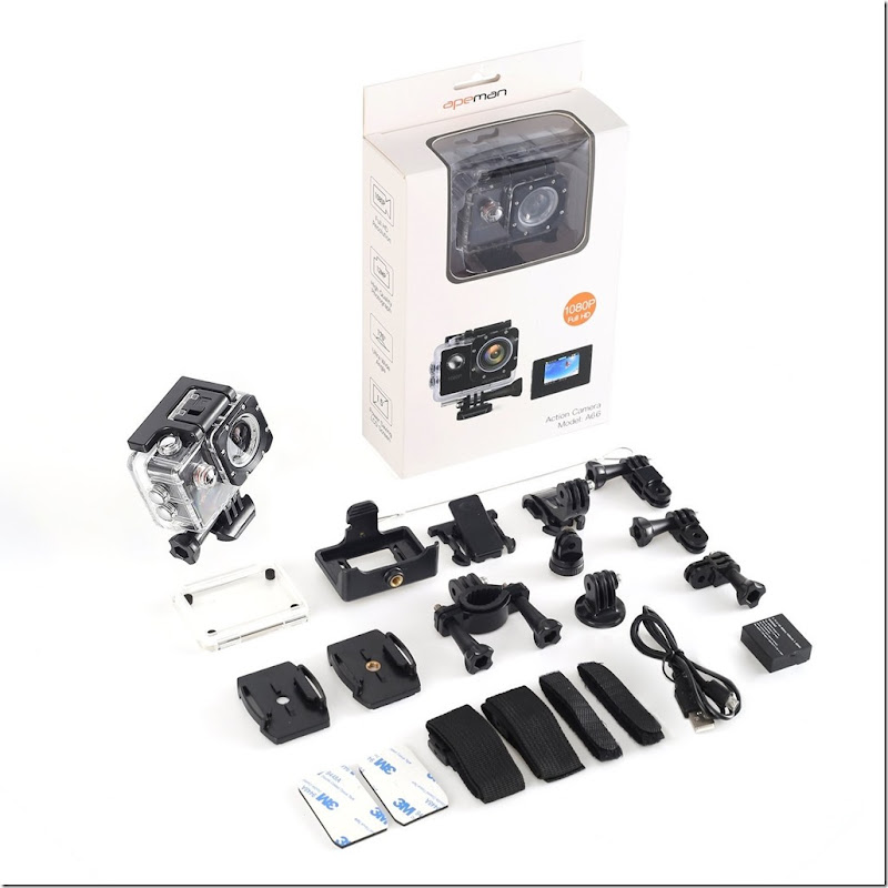 Apeman A66 action cam mini review