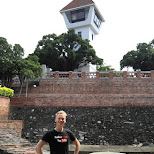 in front of Fort Zeelandia in Taiwan in Tainan, T'ai-nan, Taiwan