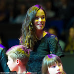 STUTTGART, GERMANY - APRIL 18 : Ana Ivanovic at the 2016 Porsche Tennis Grand Prix players introduction