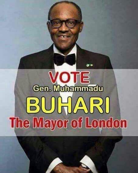 Funny Meme of Buhari