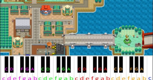 Driftveil City Pokemon Black White Piano Letter Notes If you're looking to buy sheet music, like for a solo competition or recital, take a look at my short list of go to sites at the very bottom. driftveil city pokemon black white