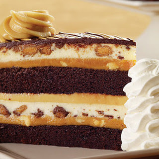 Peanut Butter Cup Ripple Cheesecake