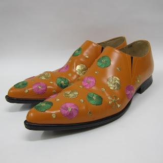 Comme des Garçons Embroidered Loafers