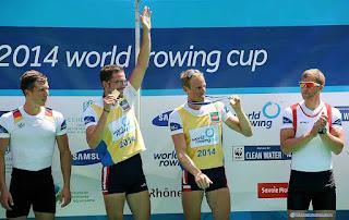 2014-La saison de l'équipe de France d'aviron