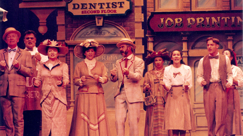 Wells Fargo Wagon in the The Music Man