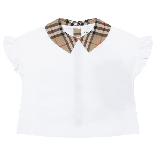 Primary image of Burberry Vintage Collar Top