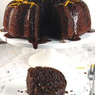 Chocolate Orange Bundt Cake (and it's whole wheat too!)