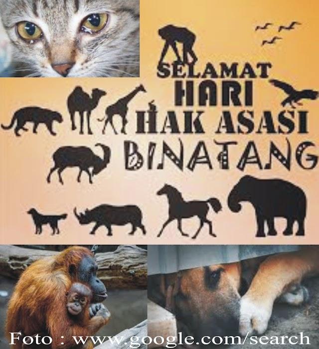 Bila Menyakiti Semua Makhluk Hidup Lainnya, Maka Kita Masih Biadab!