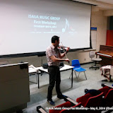 ISAUA Music Group First Workshop - May 8, 2014
