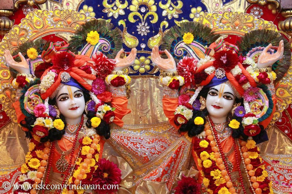 ISKCON Vrindavan Sringar Deity Darshan 12 Mar 2016 (11)