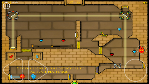Water girl and Fire boy: Light Temple Adventure 1.0.1 {cheat|hack|gameplay|apk mod|resources generator} 1