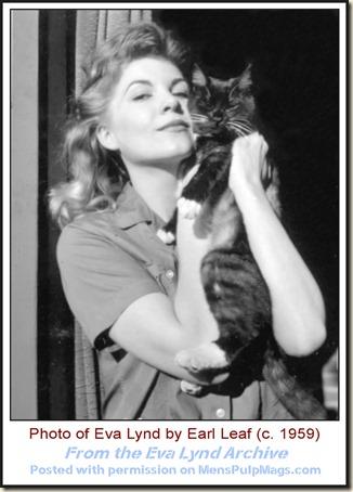 Eva Lynd c1959, photo by Earl Leaf WM6