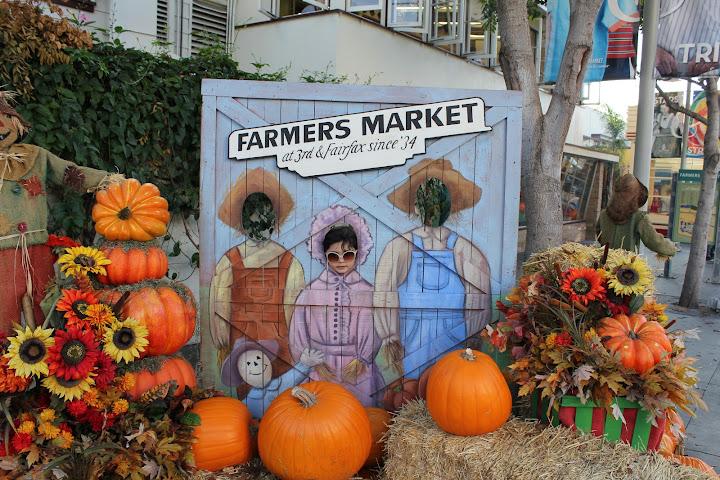 Farmers Market, calabazas, halloween