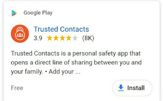 Trusted Contacts (Dimple Dhiman)