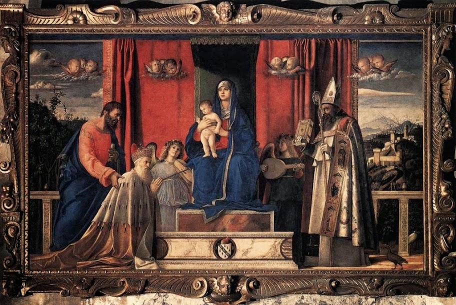 Giovanni Bellini - Pala Barbarigo