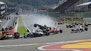 Spa Crash first corner