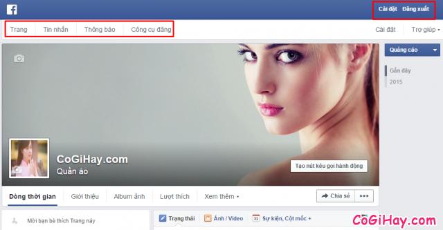 Facebook bị chuyển thành trang fanpage