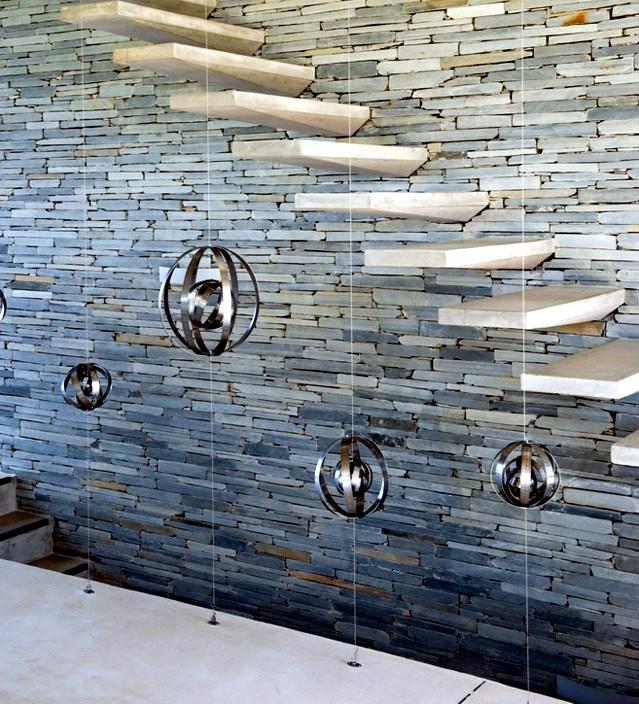 Escaleras de Concreto Modernas para Interiores