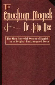 Cover of John Dee's Book Enochian Magic Spanish Translation