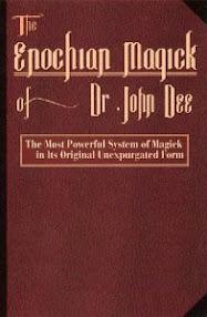 Cover of John Dee's Book Enochian Magic Spanish Translation