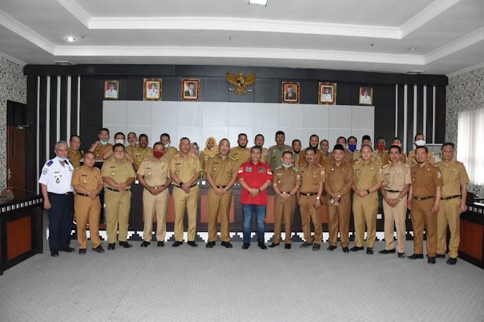 Anggota DPD RI dalam rangka Kunjungan Kerja ke Kabupaten Tulang bawang barat.
