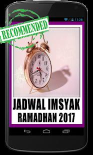 Jadwal Imsyak 2017 Lengkap - náhled