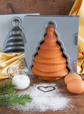 We love baking 3-D Tannenbaum Backform der Firma Städter