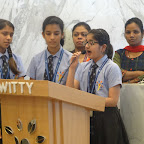 Assembly on 12th August,2015 at WIS Pawan Baug (Secondary Section)