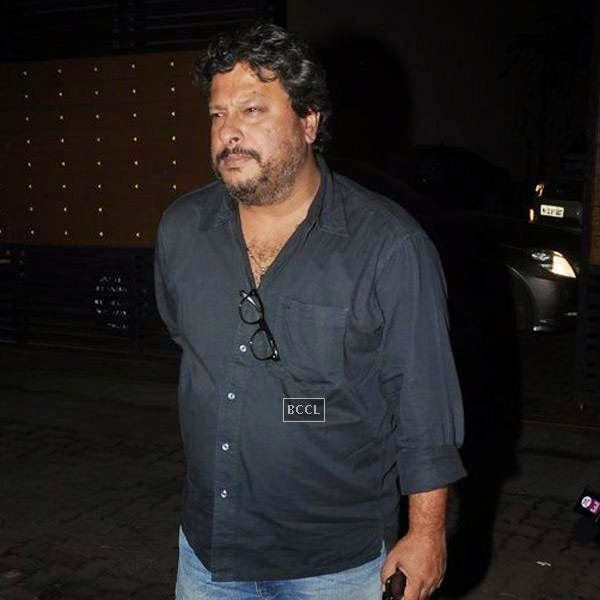 Tigmanshu Dhulia at the screening of a movie, in Mumbai, on July 24, 2014. (Pic: Viral Bhayani)<br />