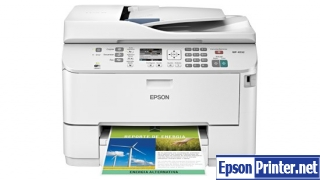 How to reset Epson WorkForce WP-4092 printer