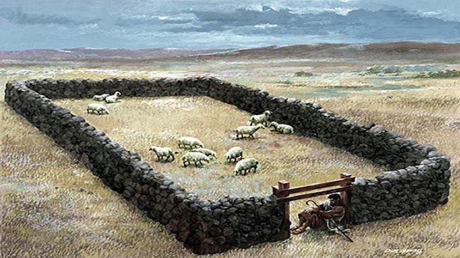 Chúa Giêsu là cửa chuồng chiên