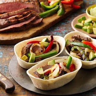 Grilled Steak Fajita Boats