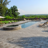 Granite Pool Deck, Hot Tub and Swimming/Reflecting Pool