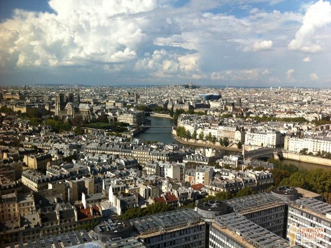 Vistas de Paris Torre Jussieu 2