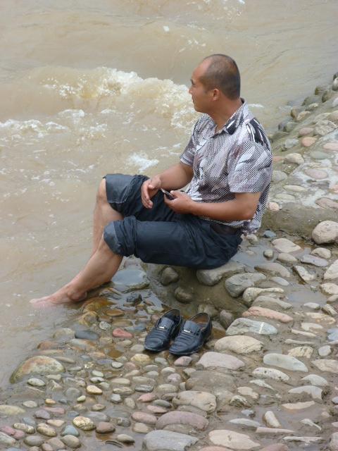 CHINE.SICHUAN.PING LE à 2 heures de Chengdu. Ravissant .Vallée des bambous - P1070532.JPG