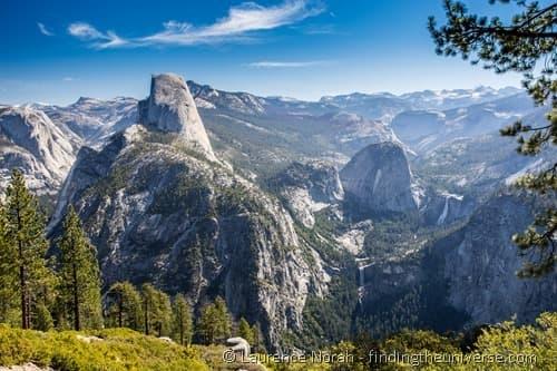 Glacier point view Yosemite 2