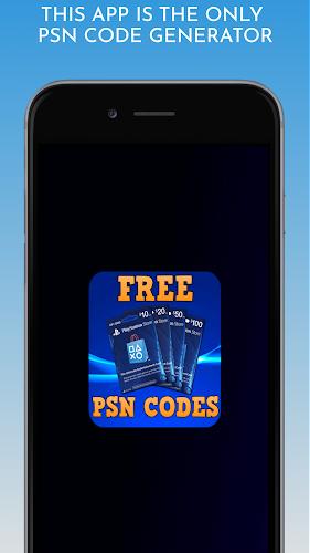 Psn Codes Generator : Redeemator II Android App Screenshot