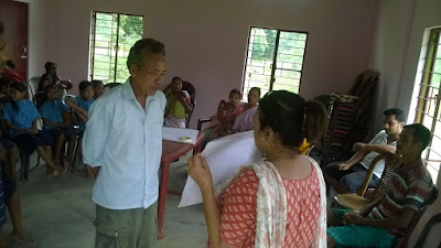 Dream building and Self Assessment at Pukhuripara