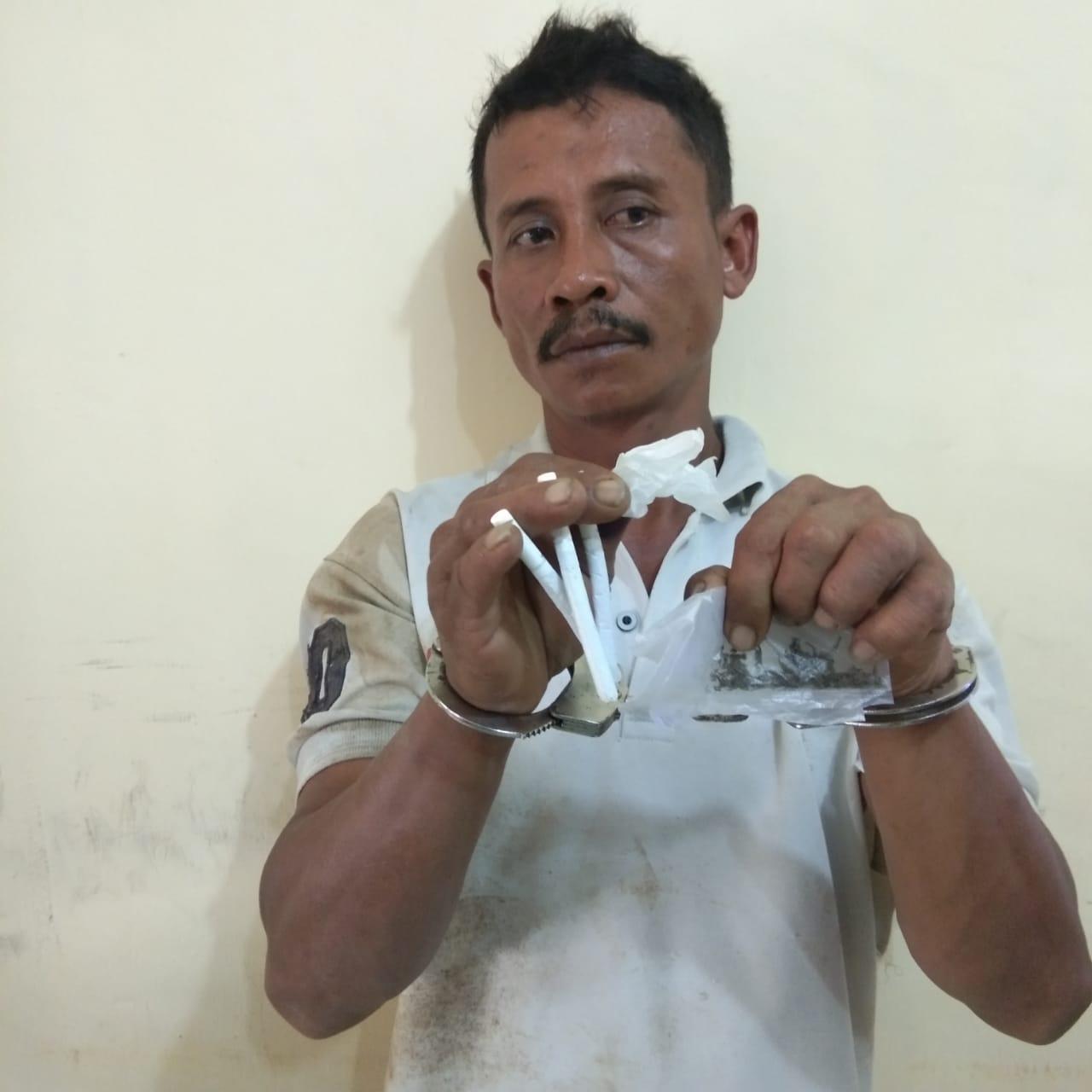 Rumah Digrebek Polisi, Pengedar Ganja Dolok Sagala Gol