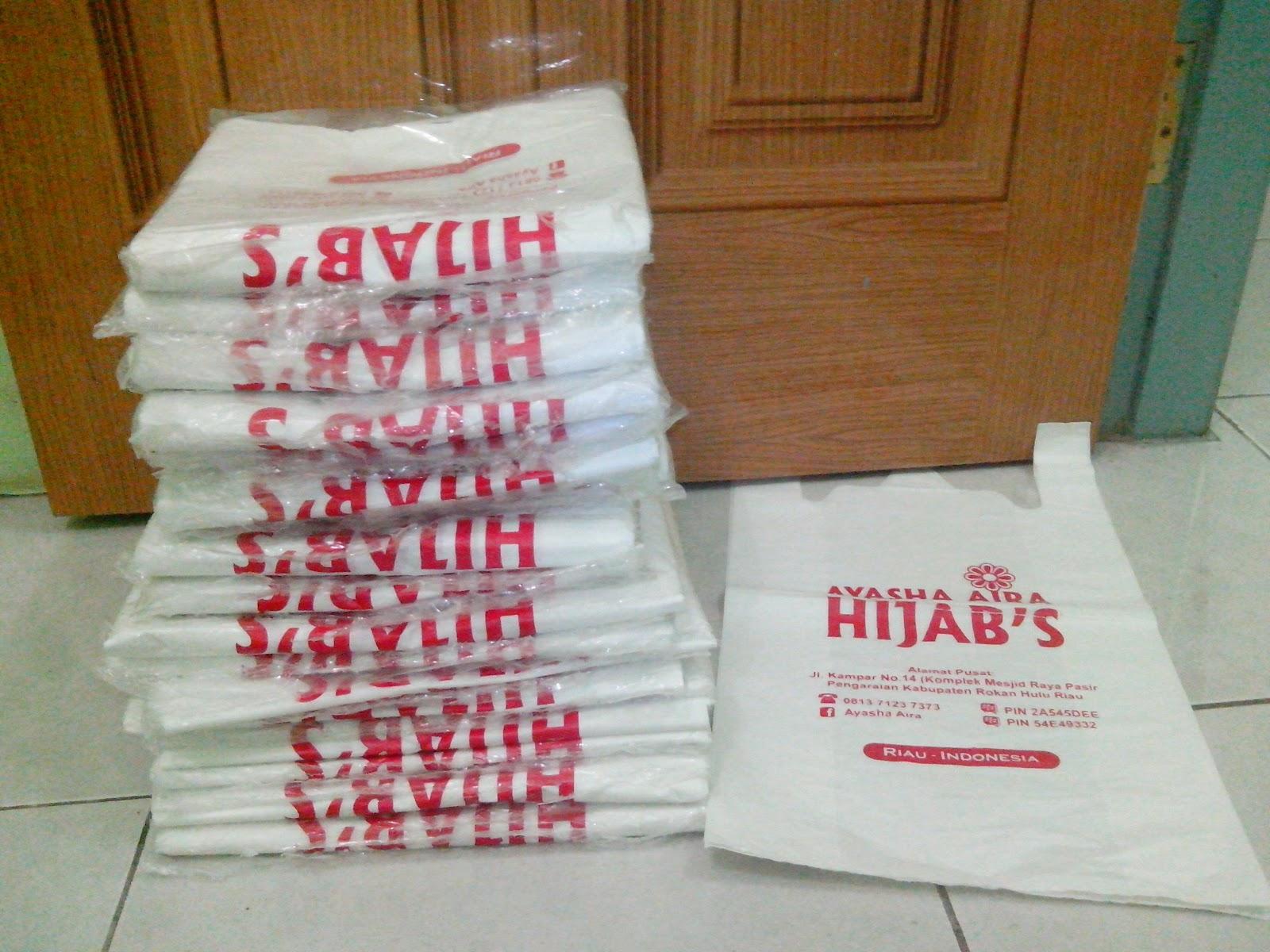 Sablon plastik kresek dan bening TOKO MUSLIM INDONESIA